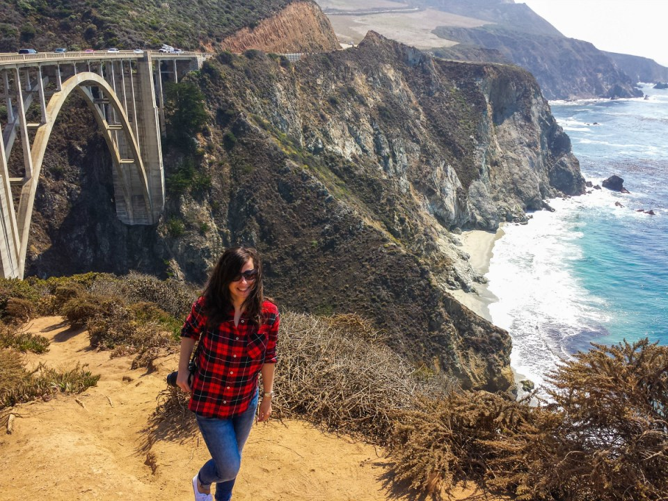 Bixby Bridge am Highway 1