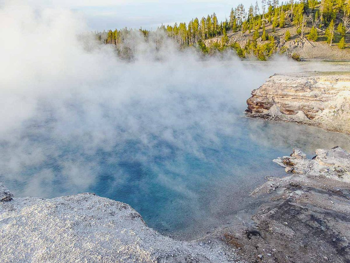 Excelsior Geyser Yellowstone NP