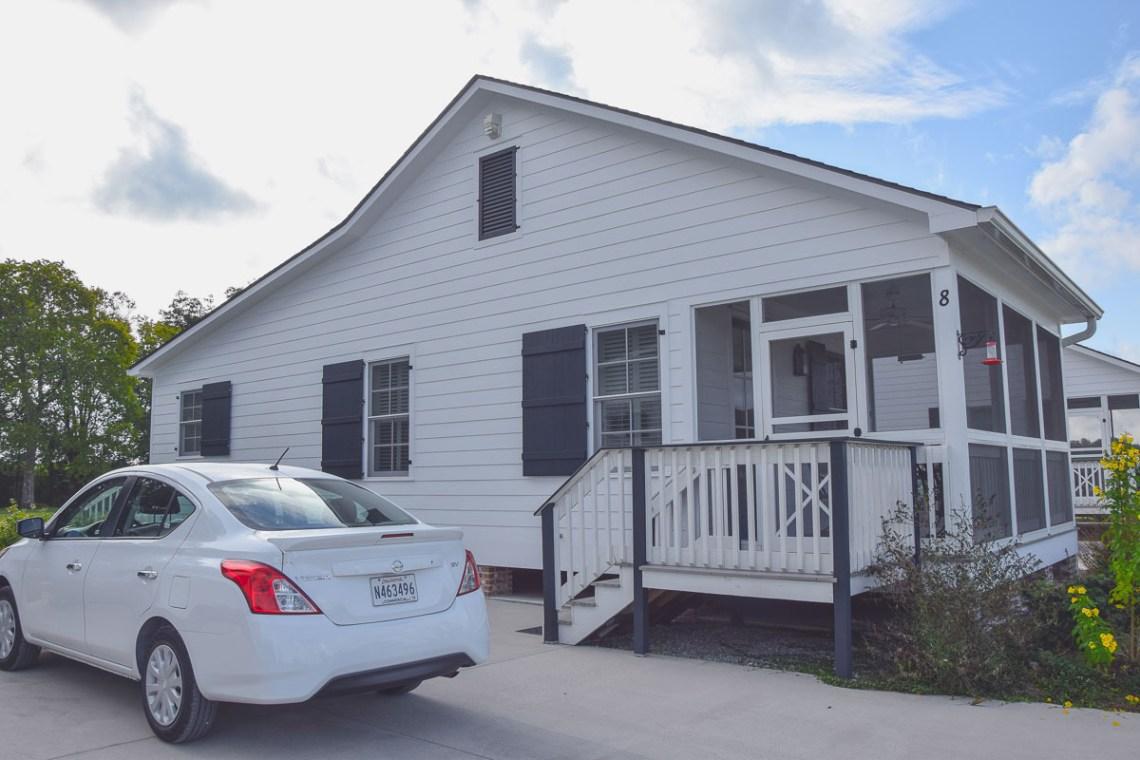 Mein Cottage für die Nacht mit kostenlosem Parkplatz auf der Oak Alley Plantation