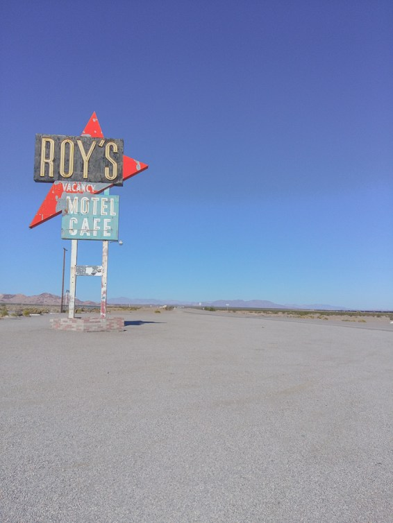 Route 66 Roy's Cafe