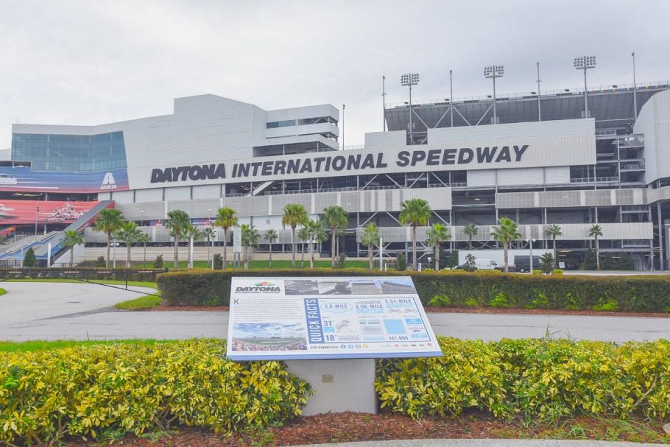 Daytona Beach International Speedway Florida