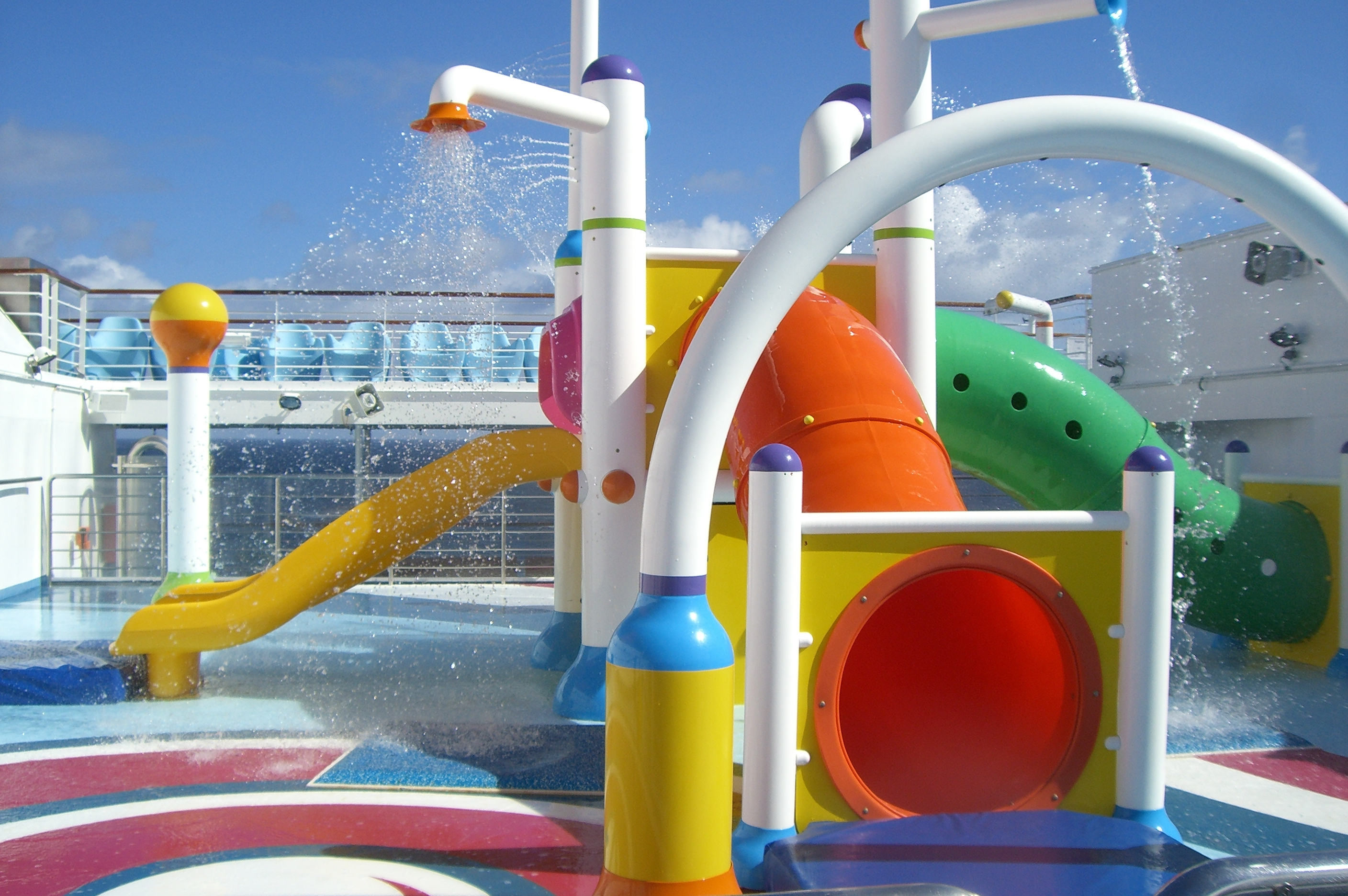 Kids Waterpark. Yes, I got soaked trying take this pic