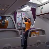 タイ航空の別ブランド THAI Smileのビジネスクラス に初搭乗