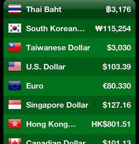 海外発券修行ライフを楽にする、厳選アプリ Currency