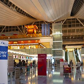 羽田国際線ターミナルにお目見えした日本橋、早速渡ってきました