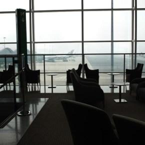 香港空港でラウンジホッピングユナイテッド航空編