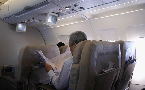 香港→仁川 アシアナ航空 ビジネスクラス