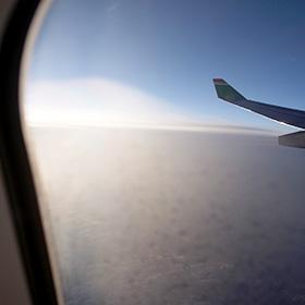 台北 松山空港からエバーキティーで 日本へ帰国