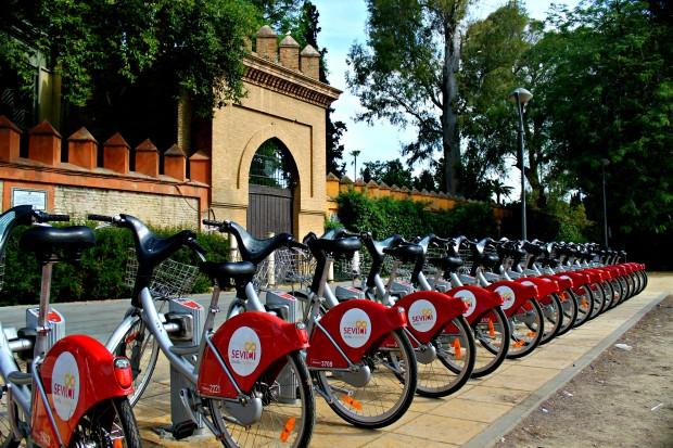A-sevici-station-for-the-bike-share-program.-There-are-250-throughout-Seville-2