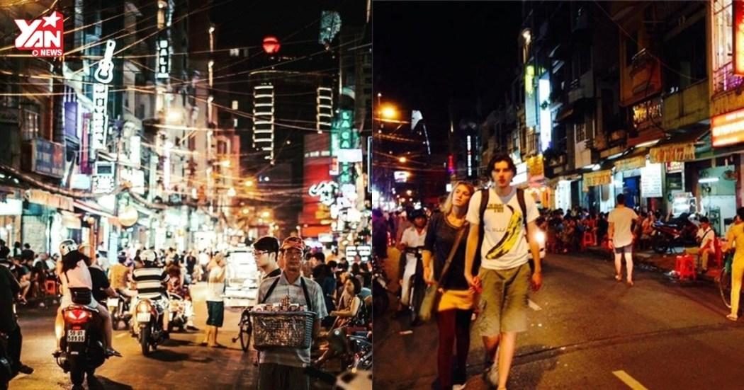 Backpackers Street HCMC