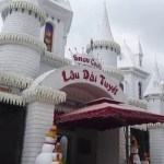 The Snow Castle in Suoi Tien Theme Park Saigon