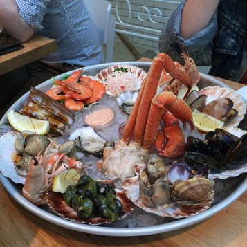 Maybe literally the best meal I've ever had - Seafood Market in Amsterdam