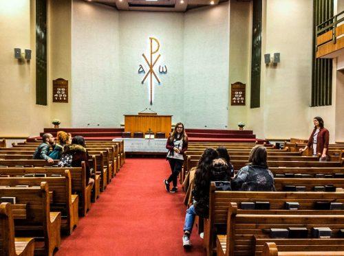 Στα ενδότερα της μεγαλύτερης και παλαιότερης Ευαγγελικής Εκκλησίας της Θεσσαλονίκης