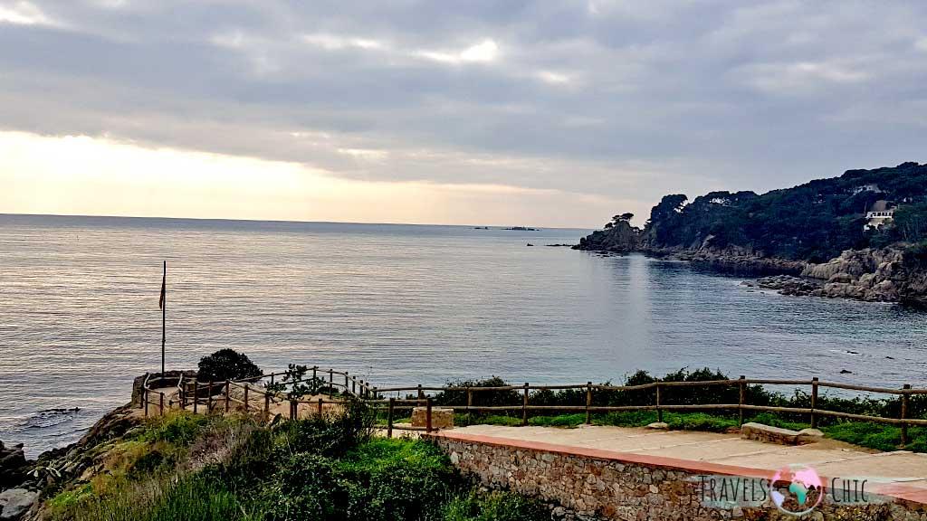 Mirador Punta dels Burricaires Calella de Palafrugell