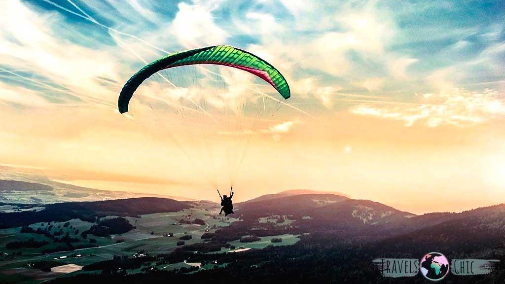 Salto en parapente en la Costa Brava