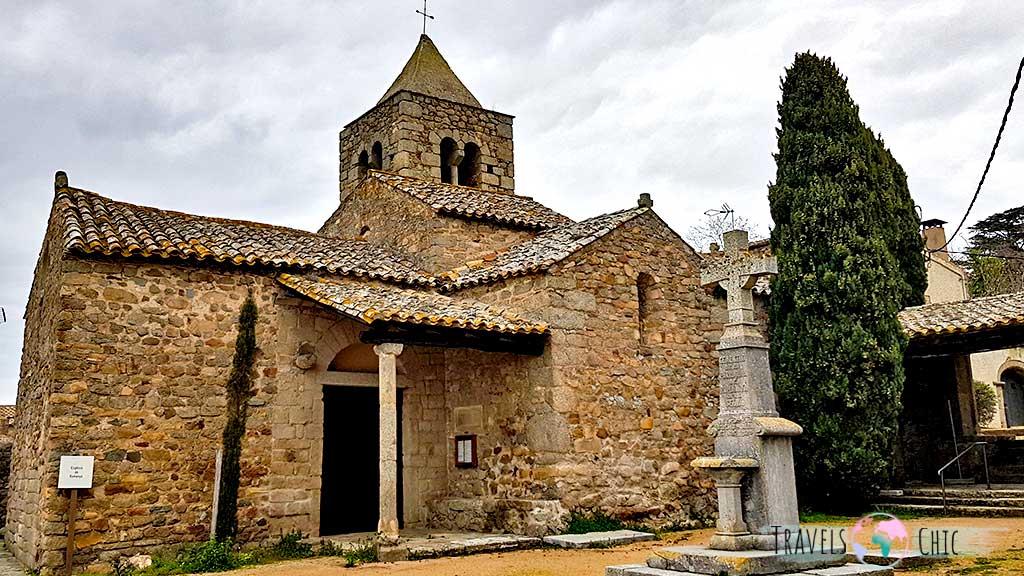 Iglesia de Sant Martí de Romanyà