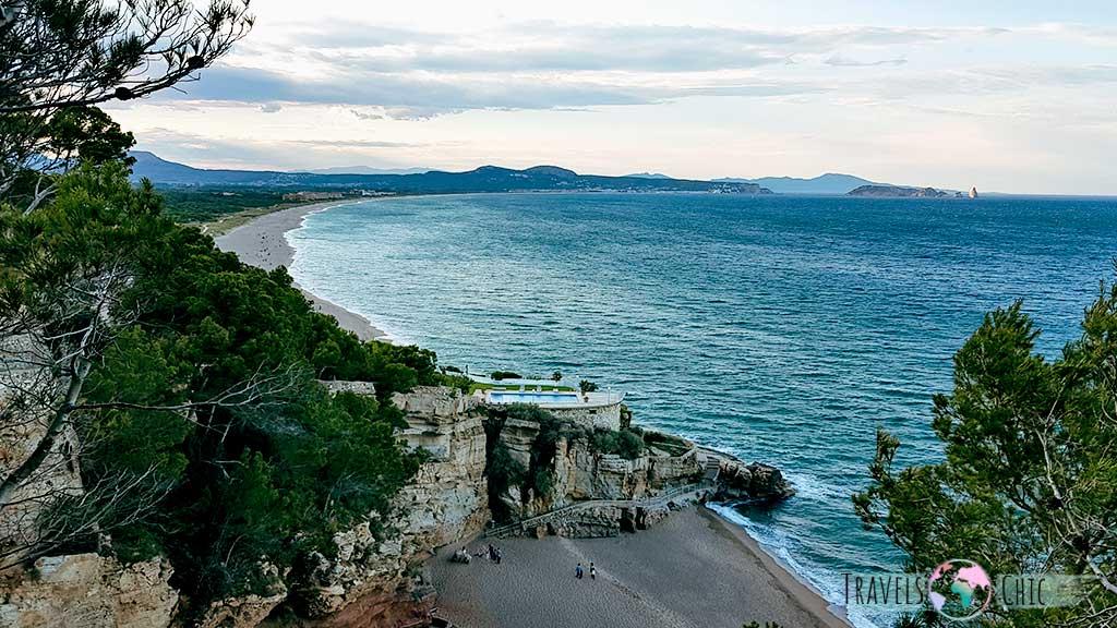 Camino de ronda Begur vistas Islas Medes