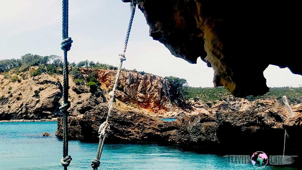 Columpio Cala Xarraca Ibiza