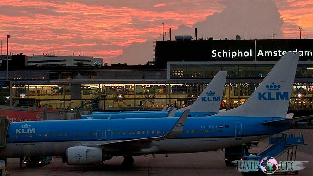 Aeropuerto Schiphol de Amsterdam