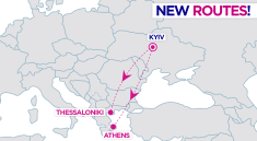 Kyiv-Greece new routes