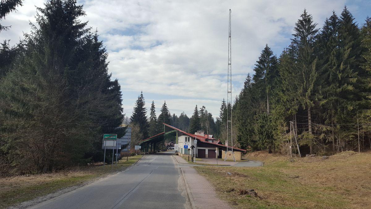 widok z polskiej strony