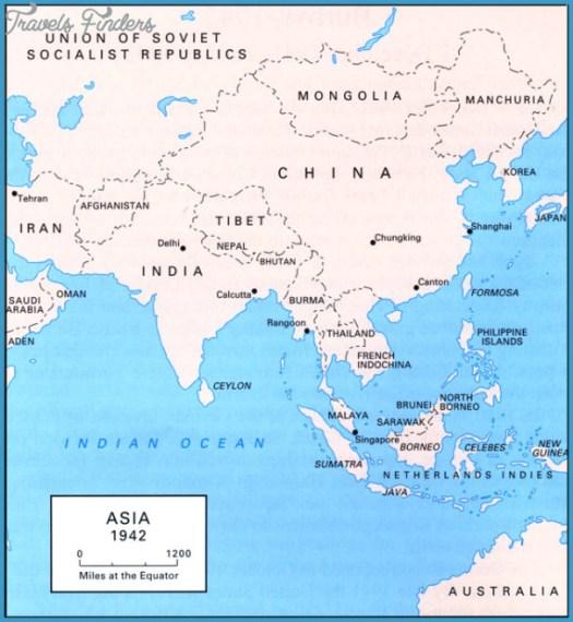 World Map Myanmar - TravelsFinders.Com
