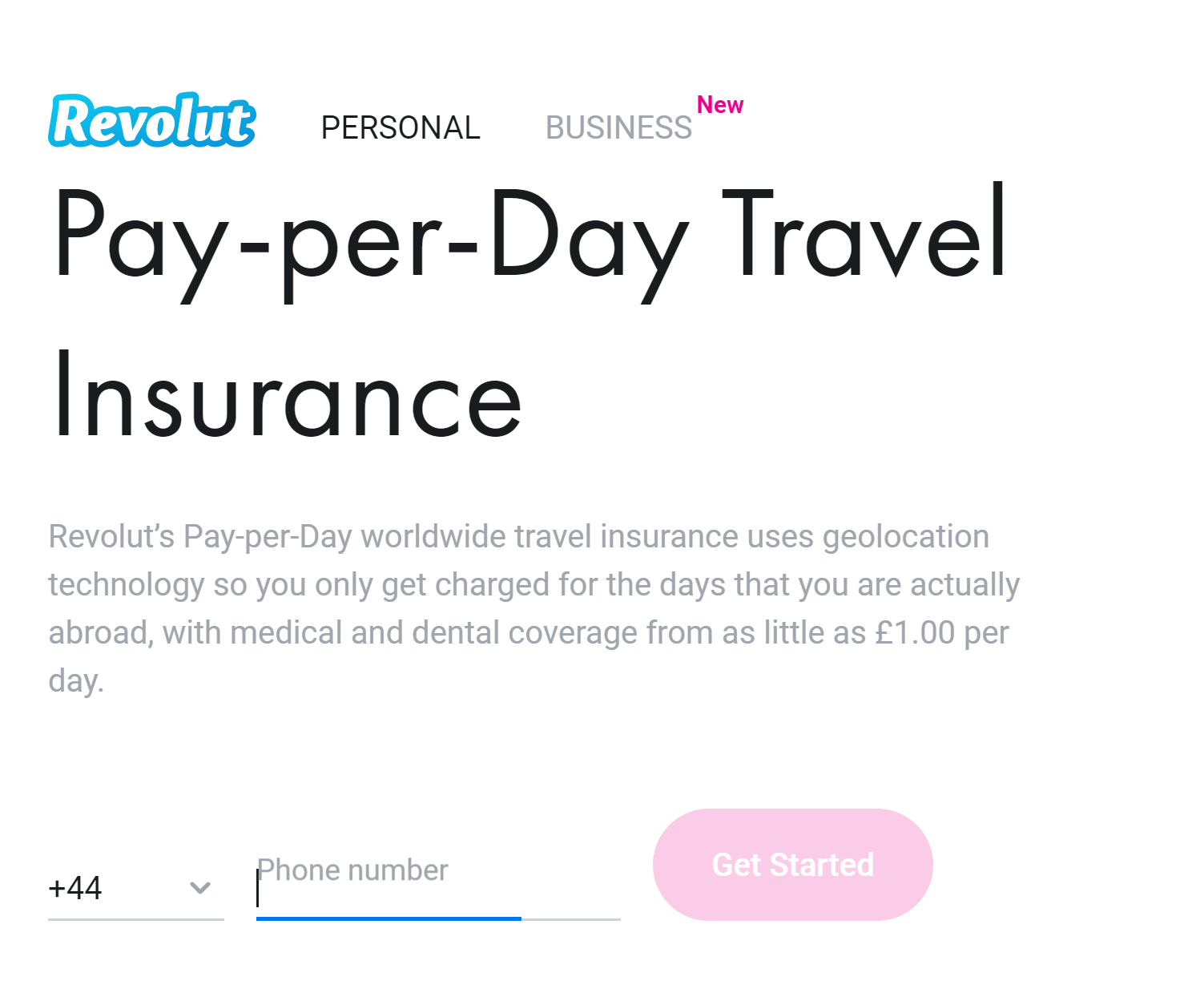 Revolut Offers Pay Per Day Geolocation Enabled Travel