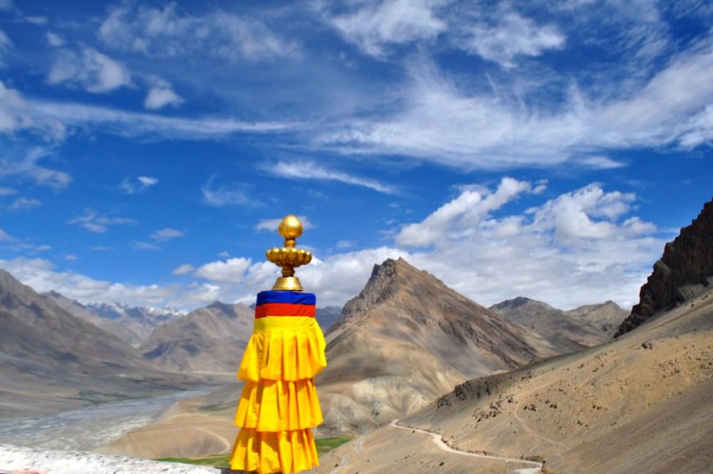 View from Key Monastery Spiti