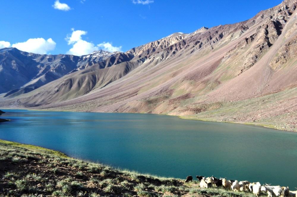 Chandrataal Lake.