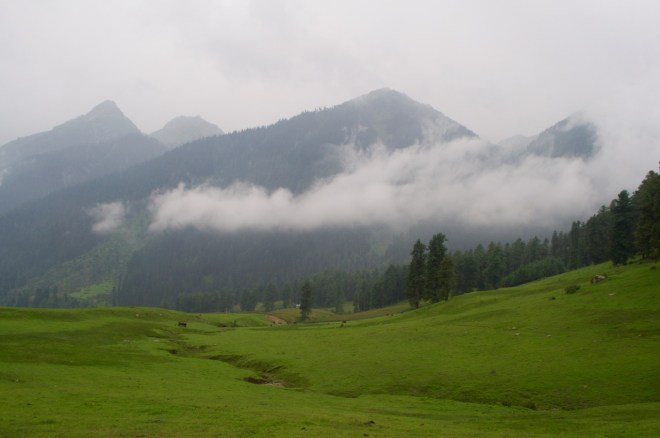 Mornings such as these; the clouds had come to welcome us...