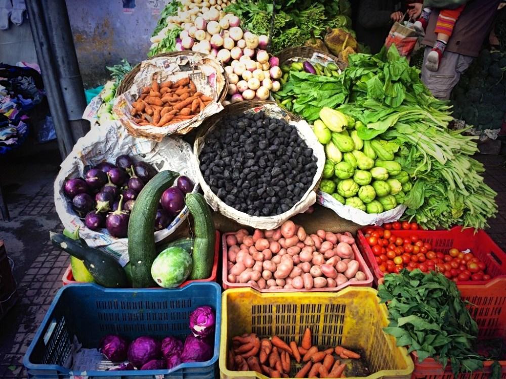 Best veggies Manali