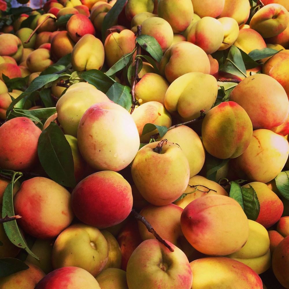 Peaches in Nainital