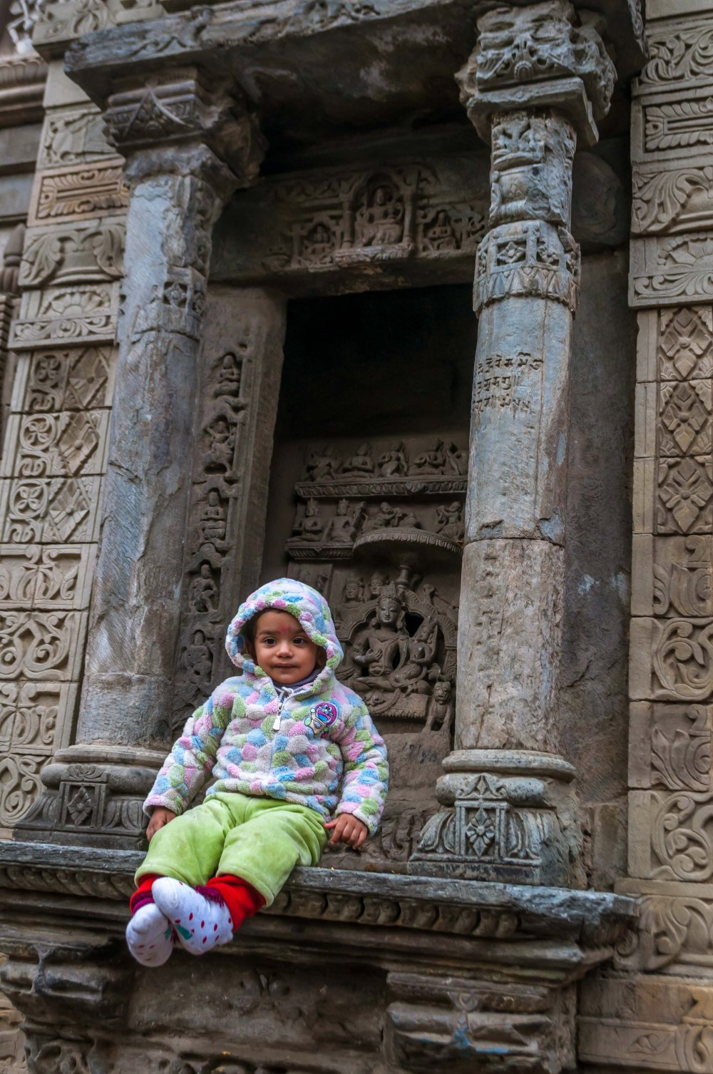 Stone carvings and statue Chamba