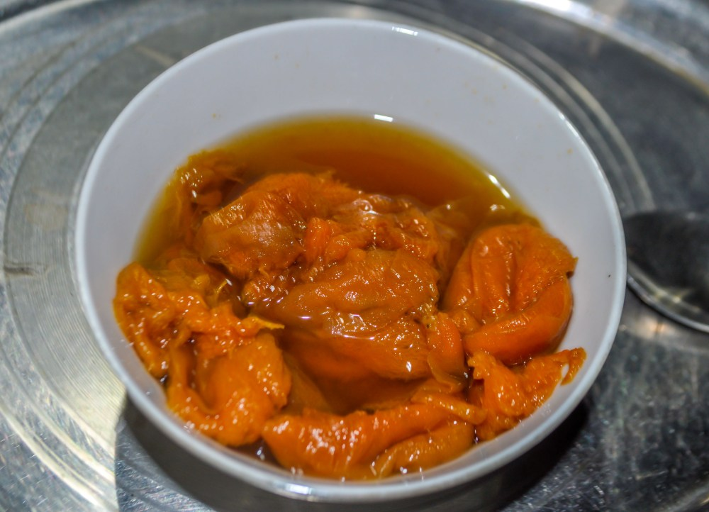 Apricot stew or soup