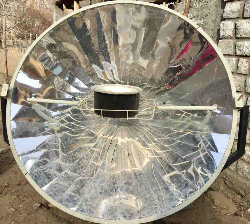 Solar Cooker Turtuk