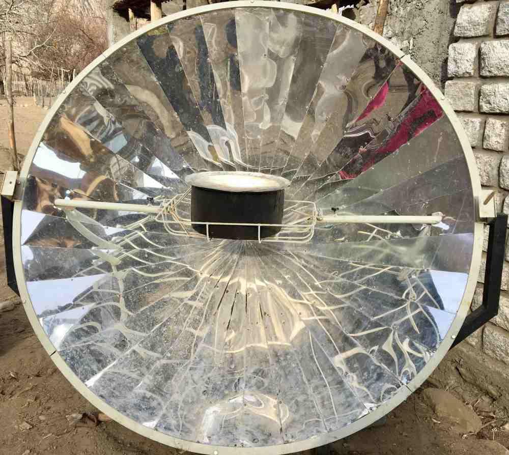 Solar Cooker Turtuk