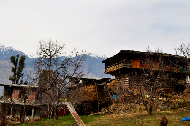 Rumsu Village old home