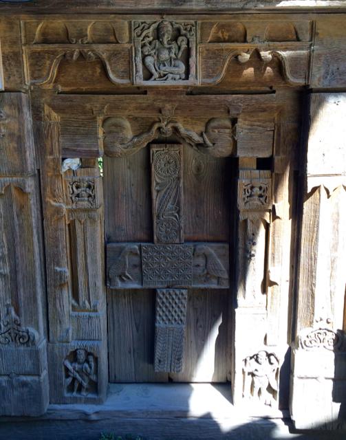 Wood Carvings Naggar
