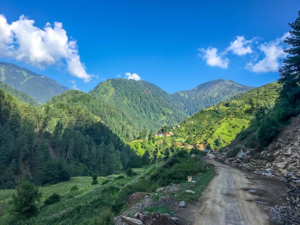 Chamba - Bhaderwah Road