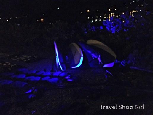 Softly lit kayaks from Night Kayak