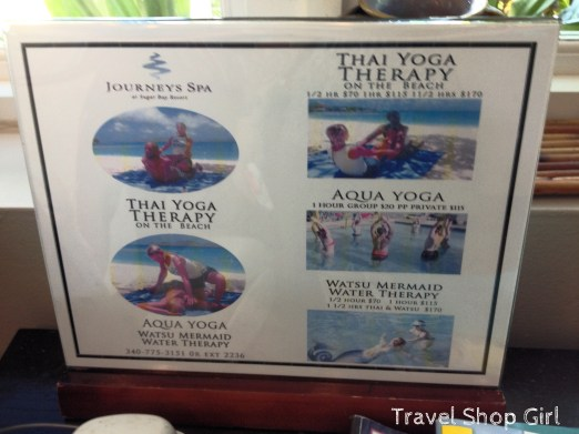 Various yoga classes available at Journey's Spa