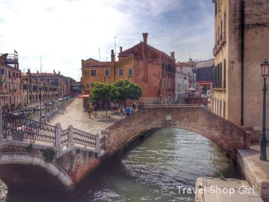 Hotel is near Tre Ponti (Three Bridges)