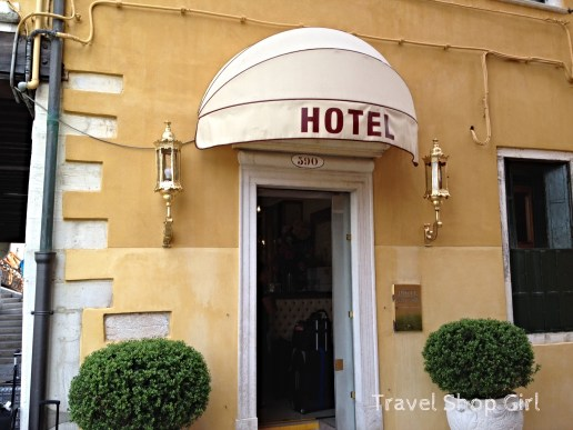 Don't let the side entrance to the hotel confuse you!