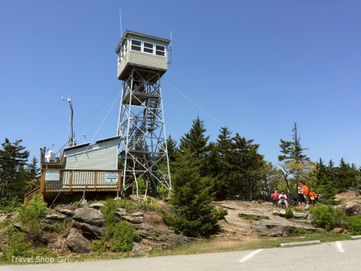 Fire Tower at summit
