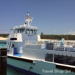 One of the tenders over to Great Stirrup Cay