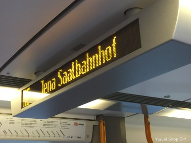 Taking the Train from Nuremberg to Erlangen