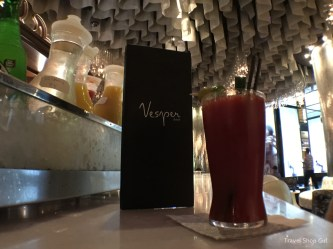 The best Bloody Mary at Vesper Bar