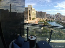 Balcony view from Terrace One Bedroom at The Cosmopolitan
