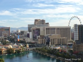 View from balcony in Terrace One Bedroom at The Cosmopolitan