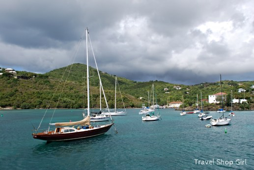 Sailboats in St. John